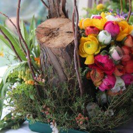 פרויקט סיום-קורס שזירת פרחים מתקדמים - עדי סגלוביץ