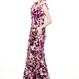 הפקת אופנה - שזירת פרחים