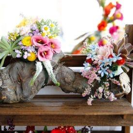 קורס שזירת פרחים מתקדמים - פרויקט הגמר של שני קרמני