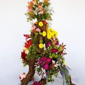 קורס שזירת פרחים מתקדמים - פרויקט הסיום של שרית גולר