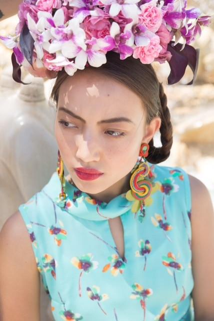 Frida Kahlo Chic - Orit Hertz Floral Design School