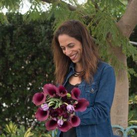 עיצוב פרחים בשילוב קאלה