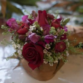 קורס שזירת פרחים מתקדמים - עיצוב פרחים בתבנית ספוג