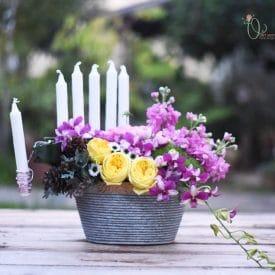 Orit hertz- floral designer – centerpiece