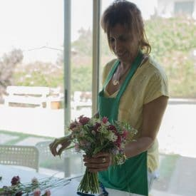 קורס שזירת פרחים