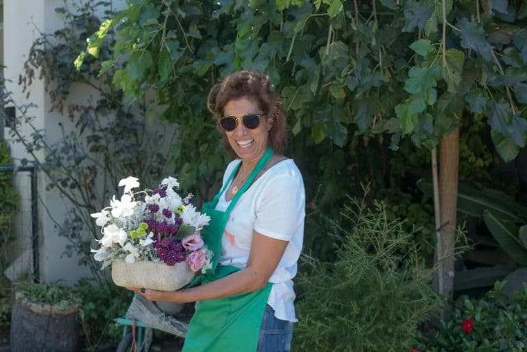שיעור שזירת פרחים