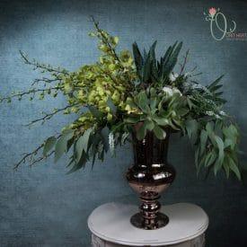 עיצוב אירועים - פרחים לקבלת פנים