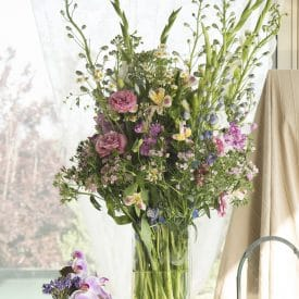 עיצוב פרחים קבלת פנים