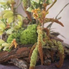 אורית הרץ - שזירת עיצוב פרחים טבעי