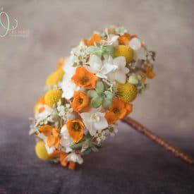 אורית הרץ - שזירת פרחים - זר כלה מיוחד בפורמה