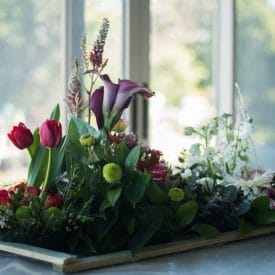 קורס שזירת פרחים מתקדמים - הגשת פרויקטי סיום