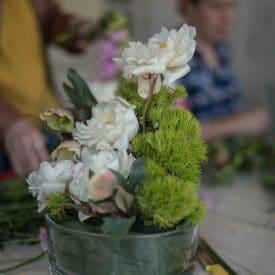 סדנת שזירת פרחים חד פעמית ליום המשפחה