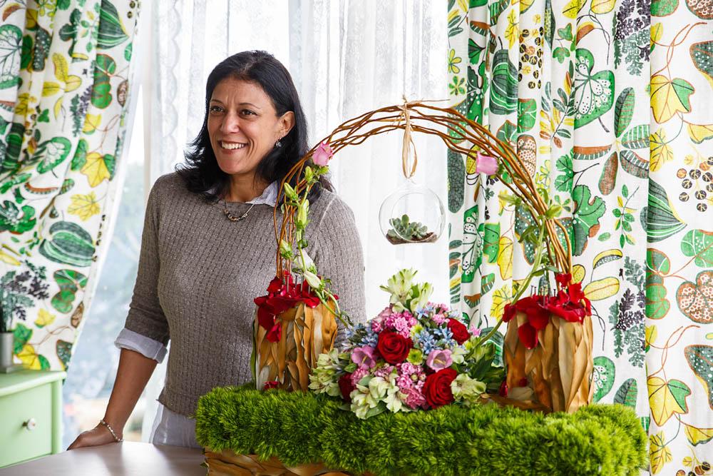 קורס שזירת פרחים מתקדמות - פרויקט סיום ורד אליהו