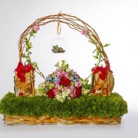 פרויקט סיום קורס שזירת פרחים מתקדמות - ורד אליהו