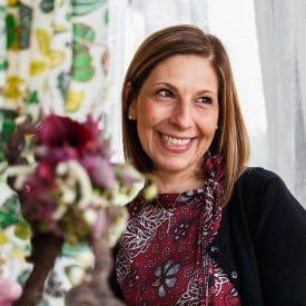 אורית הרץ - קורס שזירת פרחים מתקדמות - דינה בירינבאום פרויקט סיום