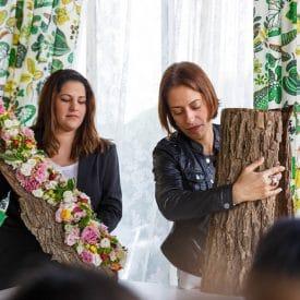 פרויקט סיום קורס שזירת פרחים מתקדמות - דינה בירינבאום