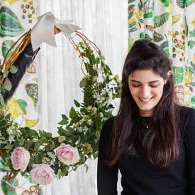 פרויקט קורס שזירת פרחים מתקדמות - הדר יפה