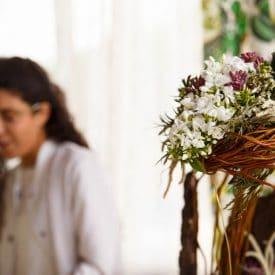 קורס שזירת פרחים מתקדמות - פרויקט הסיום של צליל עמרם