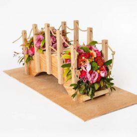פרויקט סיום - קורס שזירת פרחים מתקדמים - קטי אמסלם