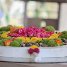 פרויקט גמר קורס שזירת פרחים מתקדמים - קרן סיטון