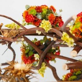 קורס שזירת פרחים מתקדמים - פרויקט סיום מיה לביא