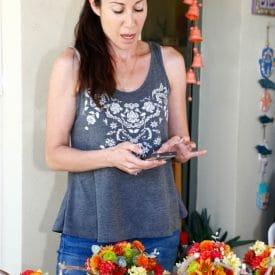 קורס שזירת פרחים מתקדמים - פרויקט הסיום של מיה לביא