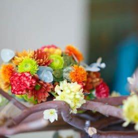 קורס שזירת פרחים מתקדמים - פרויקט הסיום של מיה