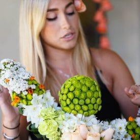 Orit Hertz Floral Design School - Natalie Sadik Final Project