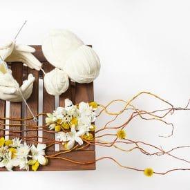 פרויקט סיום קורס שזירת פרחים מתקדמים רחלי עומייסי