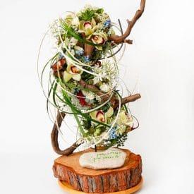 קורס שזירת פרחים מתקדמים - תמר בר נתן - פרויקט סיום