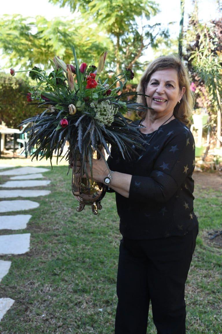 סדנת שזירתְ פרחים חד פעמית