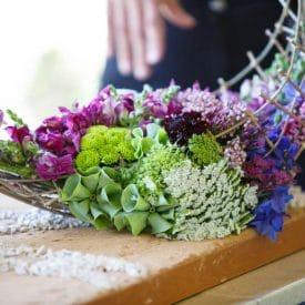 פרויקט הסיום של לימור פרץ - קורס שזירת פרחים מתקדמים