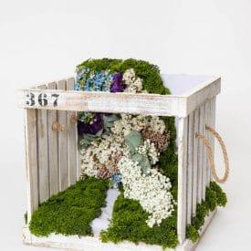 פרויקט סיום קורס שזירת פרחים מתקדמים ורוניקה וקוני