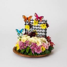 פרויקט הסיום של יאנה יאמפלוסקי - קורס שזירת פרחים מתקדמים
