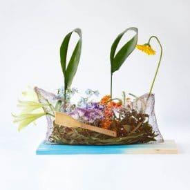 שאול סטרול פרויקט סיום קורס שזירת פרחים מתקדמים