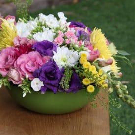 עיצוב פרחים איולה