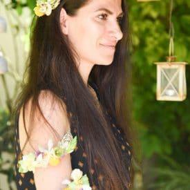 סדנת שזירת פרחים - תכשיטי פרחים