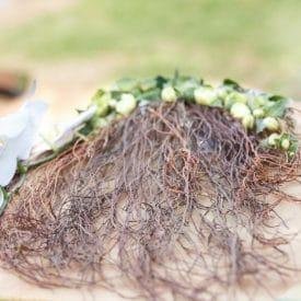 """נועה מלכה פרויקט סיום קורס שזירת פרחים מתקדמים - אורית הרץ - ביה""""ס ללימודי עיצוב ושזירת פרחים"""