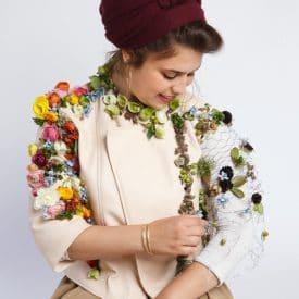 פרויקט סיום קורס שזירת פרחים מתקדמים - רעות אוחיון