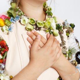 רעות אוחיון פרויקט סיום קורס שזירת פרחים מתקדמים