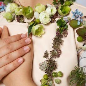 """רעות אוחיון פרויקט סיום קורס שזירת פרחים מתקדמים - אורית הרץ - ביה""""ס ללימודי עיצוב ושזירת פרחים"""