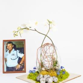 """ליטל מוספיה פרויקט סיום קורס שזירת פרחים מתקדמים - אורית הרץ ביה""""ס ללימודי עיצוב ושזירת פרחים"""