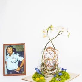 ליטל מוספיה, פרויקט סיום קורס שזירת פרחים מתקדמים