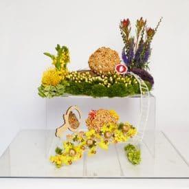 פרויקט סיום קורס שזירת פרחים מתקדמים רחל מיכאלי