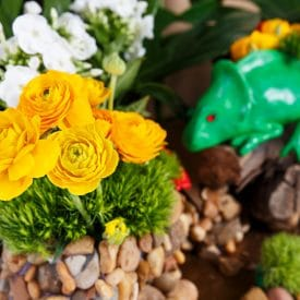 פרויקט סיום קורס שזירת פרחים מתקדמים של אלכסנדרה גלילוב