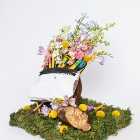 mor omessi final floral design project - orit hertz floral design school