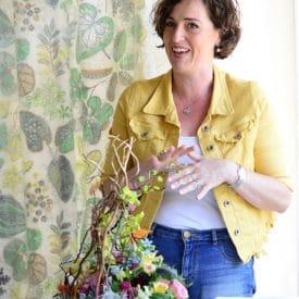 פרויקט סיום קורס שזירת פרחים מתקדים אילנית גניס