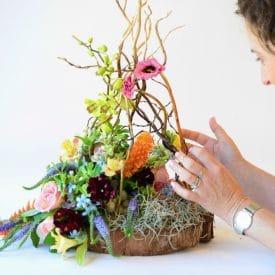 פרויקט סיום קורס שזירת פרחים מתקדמים - אילנית גניס