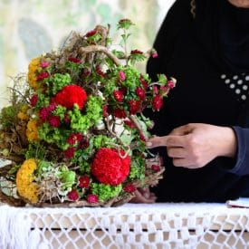 Amarat final project - orit hertz floral design school