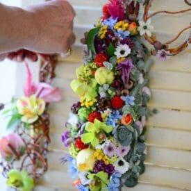 Yifat barmily - final floral design - orit hertz floral design school